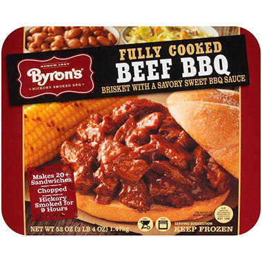 Byron's Fully Cooked Beef BBQ Brisket - 52 oz.