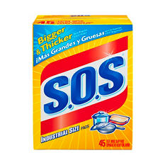 S.O.S® Industrial Size Pads - 45 ct.