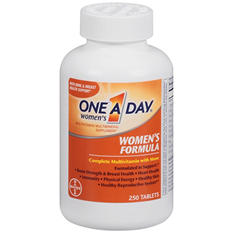 One A Day® Women's Formula Complete Multivitamin - 250 ct.