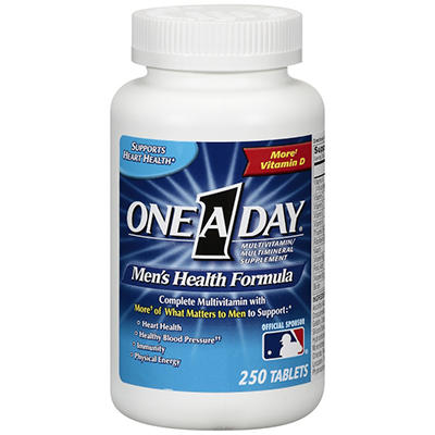 One A Day® Men's Health Formula Complete Multivitamin - 250 ct.