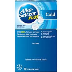 Alka-Seltzer Plus Cold Formula Sparkling Original (72 ct.)