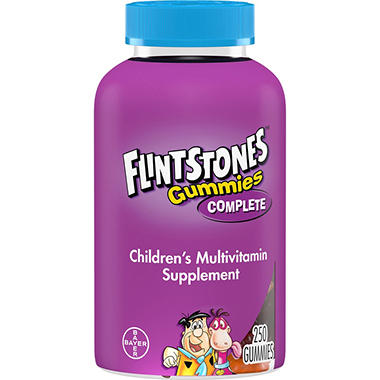 Flintstones Gummies Vitamin Supplement (250 ct.)