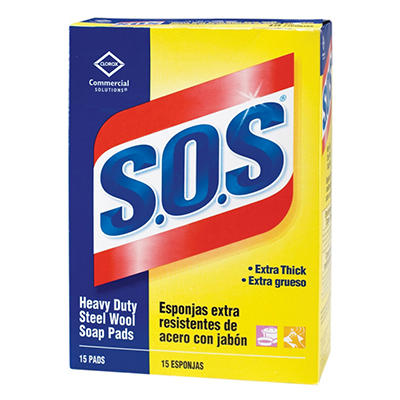 S.O.S Steel Wool Soap Pad - 180 ct.