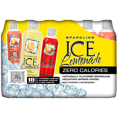 Sparkling Ice Lemonade - 17 oz. - 18 pk.