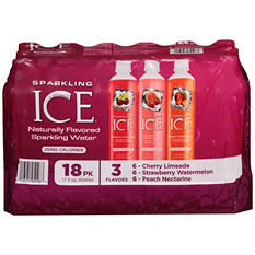 Sparkling ICE Sparkling Water, Fruit Blends Variety Pack (17 oz. bottles, 18 pk.)