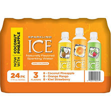 Sparkling ICE Sparkling Water, Variety Pack (17 oz., 24 pk.)