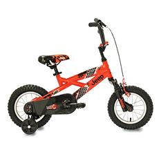 "Jeep 12"" Boy's Bicycle - Orange"