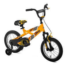"Jeep 14"" Boy's Bicycle - Yellow"