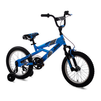 "Jeep 16"" Boy's Bicycle - Blue"