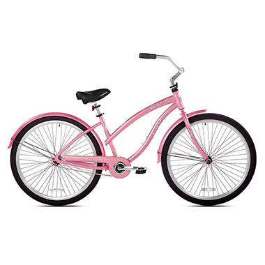 "Giordano 29"" Ladies' Cosenza Cruiser Bicycle - Pink"