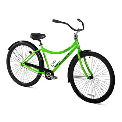 "AYKM 32"" Men's Beach Cruiser Bicycle - Green"