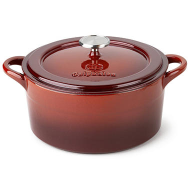 Cooking with Calphalon 5 qt. Dutch Oven - Red