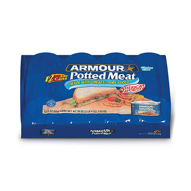 Armour� Potted Meat - 12 / 3 oz. Cans