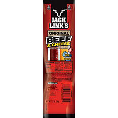 Jack Link's All American Beef & Cheese Stick (1.2 oz. stick, 16 ct.)