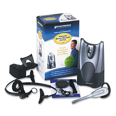 Plantronics - HL10 Lifter Wireless Convertible Over-Ear/Head Cord Phone Headset