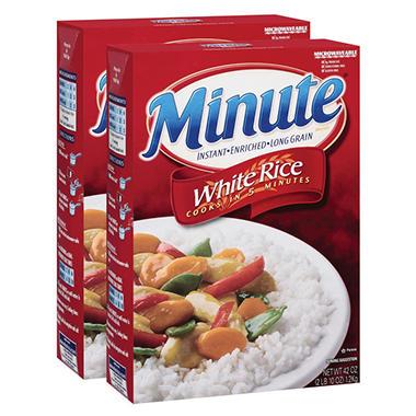 Minute Rice - 42 oz. - 2 pk.