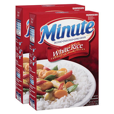 Minute Rice - 42 oz. - 2 pk.