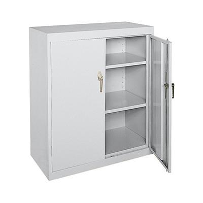 "Sandusky Welded Steel Storage Cabinet - 36""W x 18""D x 42""H"
