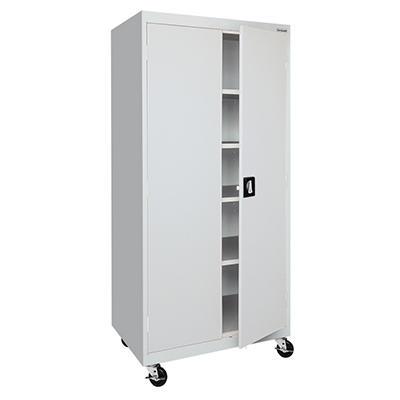 "Sandusky Classic Series Combination Cabinet - 36""W x 18""D x 72""H"