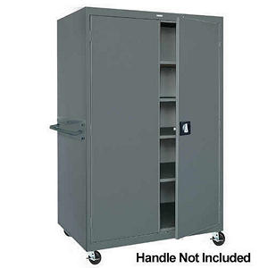 Sandusky Heavy-Duty Mobile Storage Cabinet