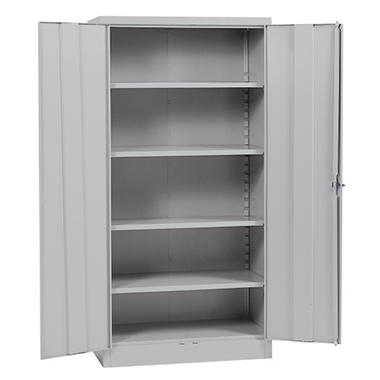 "Quick Assembly Steel Storage Cabinet Depthove - Gray - 36""W x 18""D x 72""H"