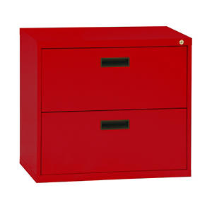 "Sandusky 30"" 2-Drawer Lateral File Cabinet, Select Color (Letter/Legal)"