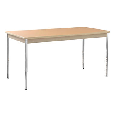 "Sandusky Heavy Duty Steel Meeting/Activity Table - 72""W x 36""D x 24-36""H"