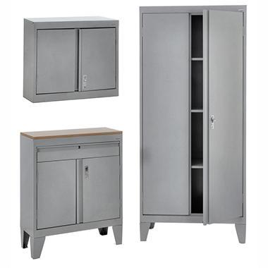 Sandusky 3-in-1 Storage Cabinet Set