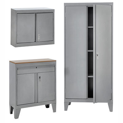 Sandusky 3-in-1 Storage Cabinet Set