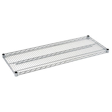Sandusky 48 in. W x 18 in. D Steel Wire Shelf in Chrome