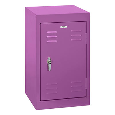 "24"" Sandusky Single Tier Welded Steel Kids Storage Locker - 6 Various Colors"