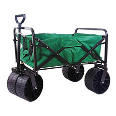 "Sandusky Heavy-Duty Steel Folding Beach Utility Cart - 36"" x 21"""