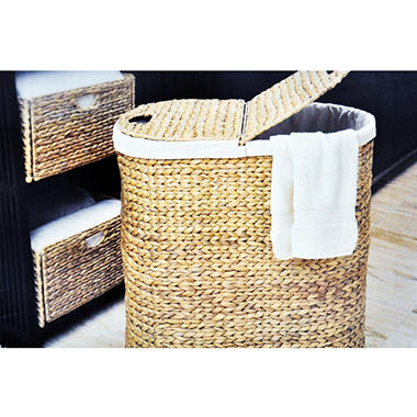 3PC HAMPER SET WATER HYACINTH