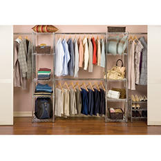 Expandable In-Closet Organizer - Chrome