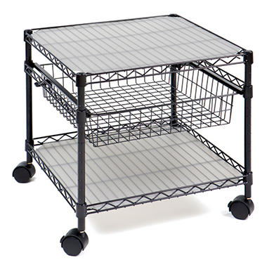 Seville Multi Purpose Black Utility Cart