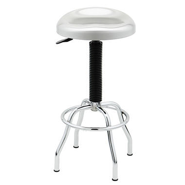 Pneumatic Stool with Contoured Seat