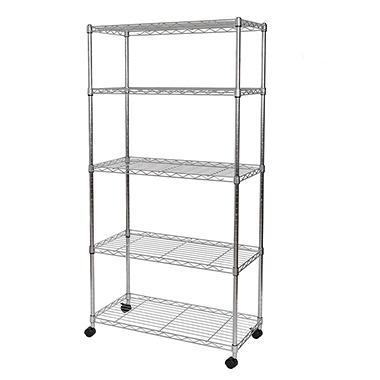 Seville Classics 5-Shelf Shelving System