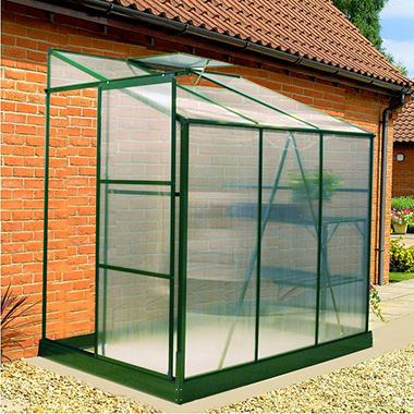 Exaco Lean-To Greenhouse - 6' x 4'