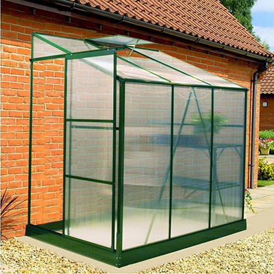 Exaco Lean-To Greenhouse - 6' x 4'