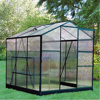 Exaco Hobby Greenhouse - 6' x 6'
