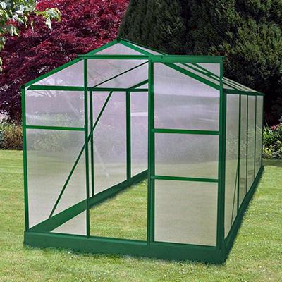 Exaco Hobby Greenhouse - 6' x 8'