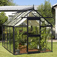 Junior Victorian All Glass Greenhouse Kit - 8' x 10'