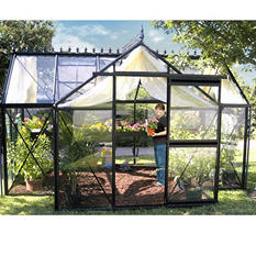 Junior Victorian All Glass Greenhouse Kit - 8' × 12½'
