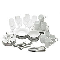 10 Strawberry Street 80-Piece Tableware Set