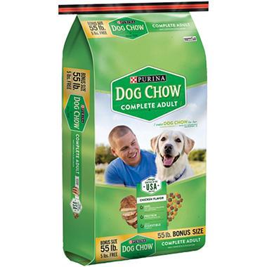 Purina Dog Chow - 55 lb. bag