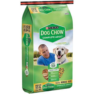 Purina Dog Chow - 55 lb. bag