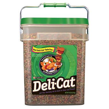 Purina Deli-Cat Cat Food - 10 lb. pail