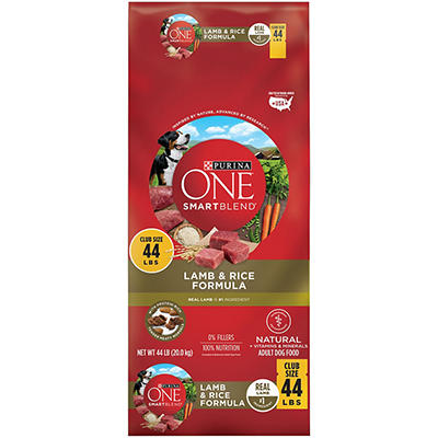 Purina ONE Smartblend Lamb & Rice Formula - 44 lbs.