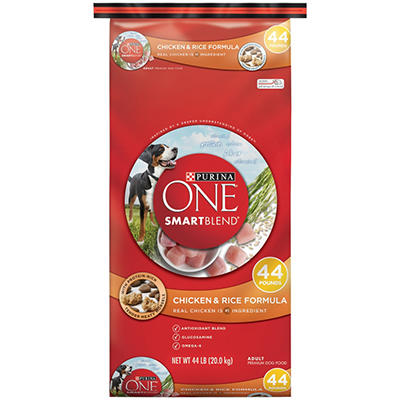 Purina ONE Smartblend Chicken & Rice Formula  - 44 lbs.