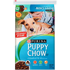 Purina Puppy Chow Soft & Crunchy Bites, 25 lbs.